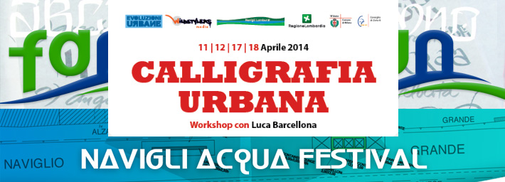 Urban Calligraphy: workshop with Luca Barcellona